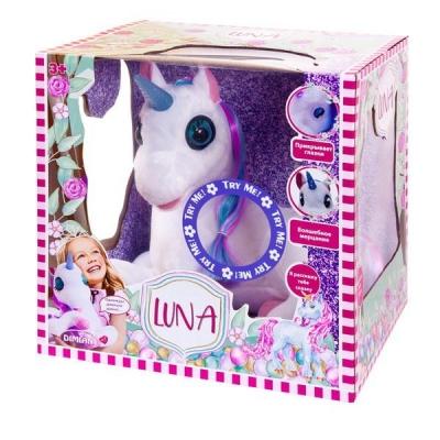 91247 Интерактивный Единорог Luna (свет и звук) Dimian