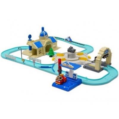 """99024 Игровой набор """"Мега трек с двумя умными машинами"""" Робокар Поли SilverLit"""