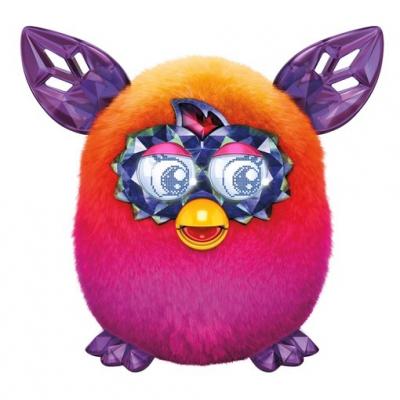992121 Интерактивная игрушка Кристальный Ферби Оранжевый Furby Boom Hasbro