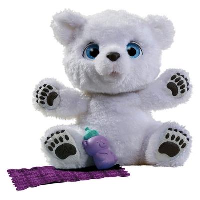 990028 Интерактивная игрушка Полярный Медвежонок Furreal Friends Hasbro