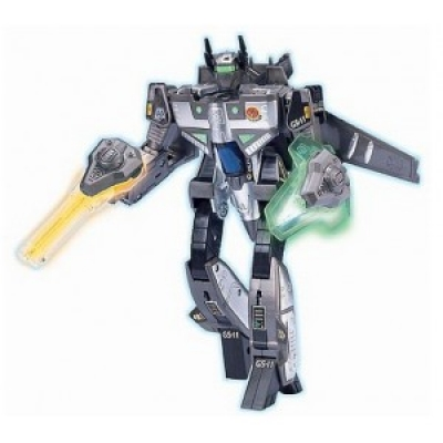33030 Игрушка Робот-трансформер Самолет Меняющийся кибербот 24 см Happy Well