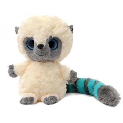 992015 Мягкая игрушка Лемур Юху голубой 20 см Aurora