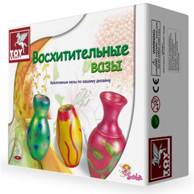 """99411 Набор для творчества """"Роспись. Восхитительные вазы"""" Toykraft"""