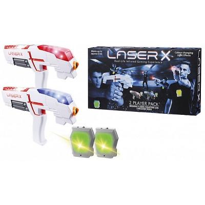 99478 Набор игровой Laser X 2 бластера и 2 мишени Лазертаг