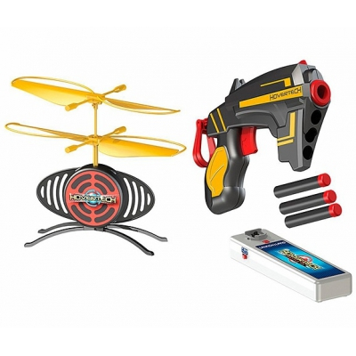 990212 Игрушка Летающая мишень с 2 бластерами Hovertech
