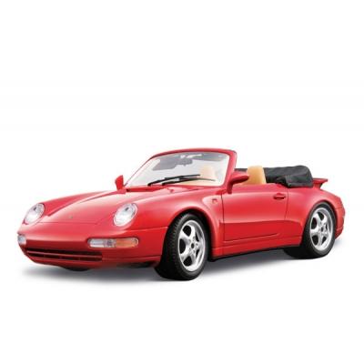 18-12039 Модель машины Porsche 911 Carrera Cabriolet (1994) Bburago