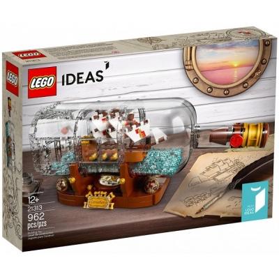 """21313 Конструктор Лего """"Корабль в бутылке"""" Левиафан Lego"""