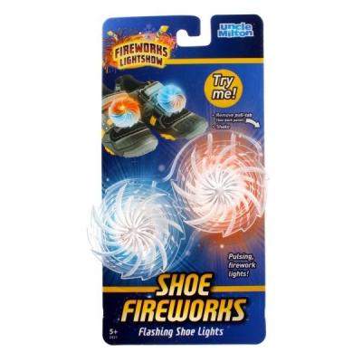 992421 Светящиеся насадки на детскую обувь Fireworks Lightshow Uncle Milton