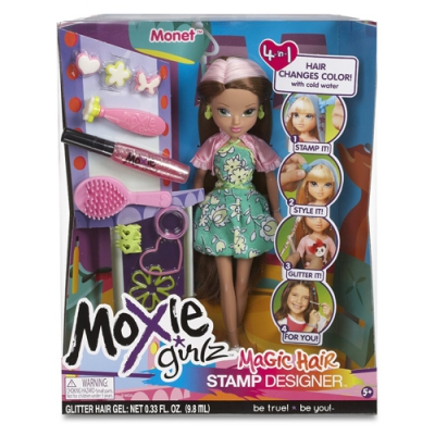 """99761 Кукла """"Волшебные волосы"""" Моне Moxie Teenz"""