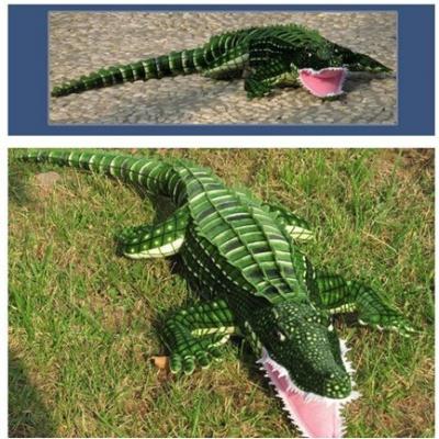 0199 Мягкая игрушка Крокодил Гигант 200 см Абвгдейка