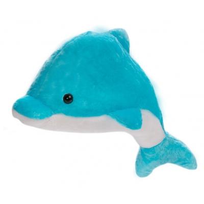 *BP0051 Мягкая игрушка Дельфин голубой Яша 83 см Абвгдейка