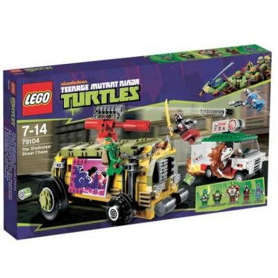 9979104 Черепашки-ниндзя Погоня на панцирном танке Лего (Lego)