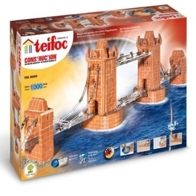 TEI2000 Строительный набор из кирпичиков «Тауэрский мост» Teifoc