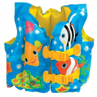 99661 Надувной жилет для плавания Рыбки Intex