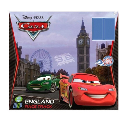 "99062 Автотрек с двумя машинками ""Тачки 2"" Англия"
