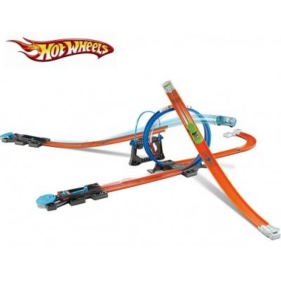 """990335 Игровой набор """"Конструктор трасс: стартовый набор"""" Hot Wheels Mattel"""