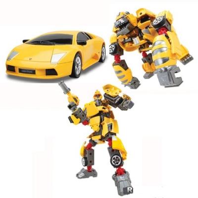 55010 Игрушка Робот-трансформер 3 в 1 Lamborghini Murcielago Happy Well