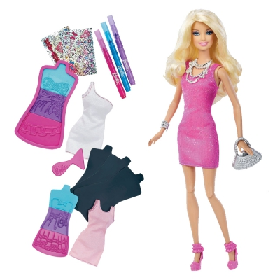 """9907892 Креативный набор Барби """"Создай свое платье"""" Barbie Mattel"""