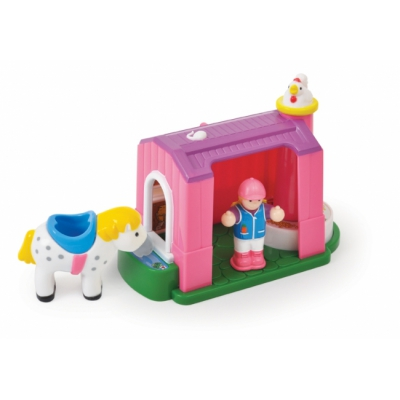 1024 Конюшня с лошадкой Молли WOW Toys
