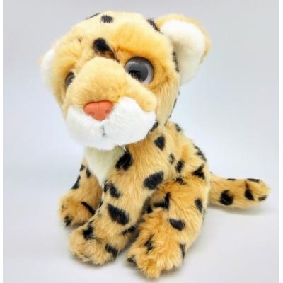 *LP0001 Мягкая игрушка Леопард Детеныш 20 см Абвгдейка
