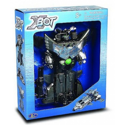 3848 Игрушка Робот-трансформер Космолет X-Bot Ultra Sonic Shuttle 23 см Happy Well