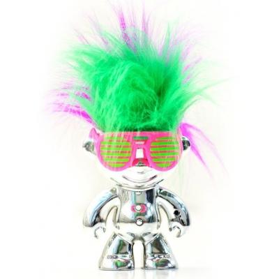 """1202 Игрушка Кукла Тролль """"Танцующие волосы"""" Dancing Troll Elektrokidz Wow Wee"""