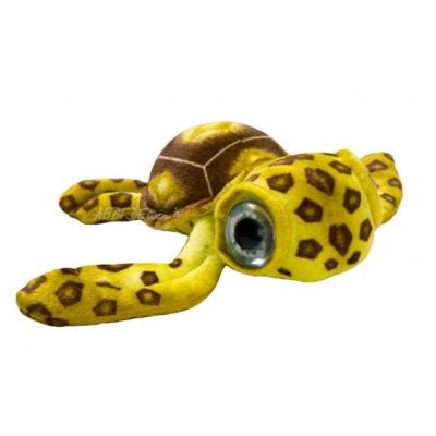 *SW-0007 Черепаха большеглазая большая желтая 60 см