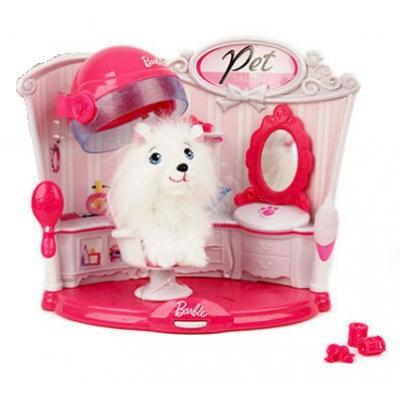 """99471 Игровой набор """"Салон для питомца"""" с аксессуарами Barbie"""
