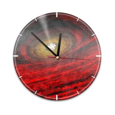 X99015V Настенные часы с текстурой Черная дыра