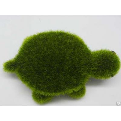 "6549 ЭКО-игрушка из травы ""Черепашка"" 12х12 см"