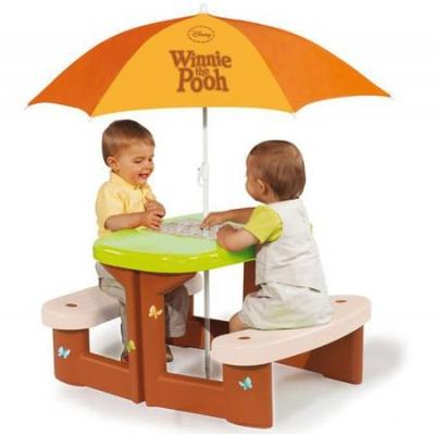 991047 Cтолик для пикника Smoby Winnie