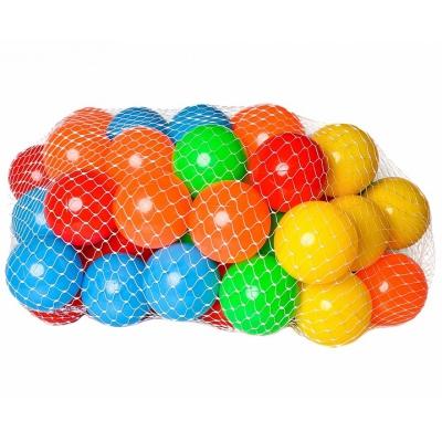 9950 Набор пластиковых шариков для  сухого бассейна 50 шт Затейники