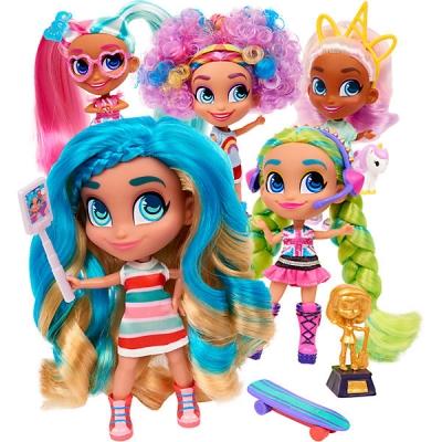 """98752 Кукла сюрприз """"Cтильные подружки"""" 1 серия Hairdorables"""