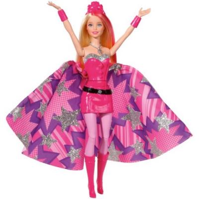 99061 Кукла-трансформер Супер-принцесса Кара Блестка Barbie Mattel