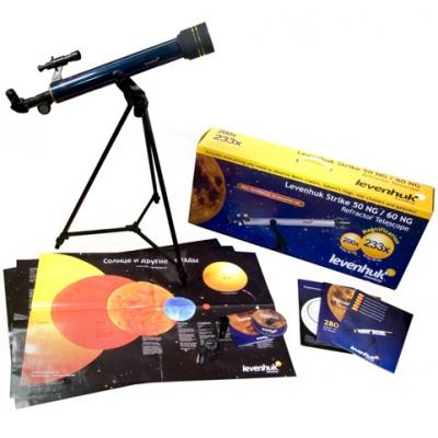 *29268 Телескоп Levenhuk Strike 50 NG + 5 пособий