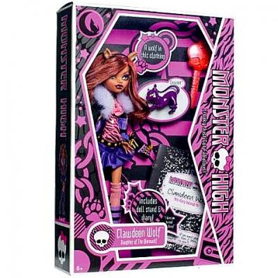 99392Y Кукла Монстер Хай Клодин Вульф Monster High Clawdeen Wolf