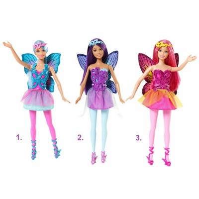 99F32 Кукла Барби Фея Серия Mix & Match в ассортименте Barbie Mattel