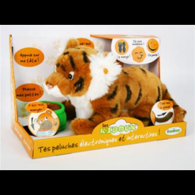 91210R-ORT Тигр оранжевый интерактивный Тeeboo