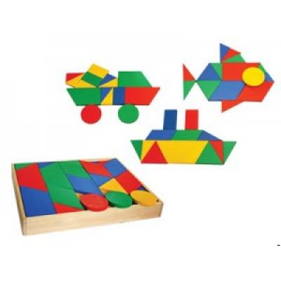 T053ц Мозаика напольная геометрическая