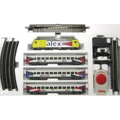 99696t  PIKO Стартовый набор , пассажирский состав Alex, аналоговый