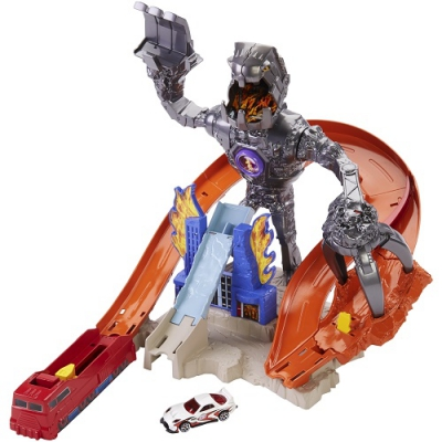 """990337 Игровой набор """"Гоночный трек Нитробот"""" Hot Wheels Mattel"""
