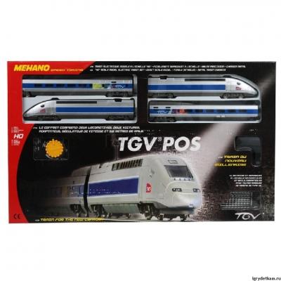 99694 Mehano Железная дорога Tgv pos
