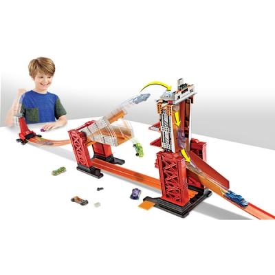 990333 Конструктор Трасс «Разводной Мост» с 2 машинками Hot Wheels