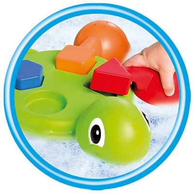 """99757 Игрушка для ванной """"Веселые черепашки"""" Tomy"""