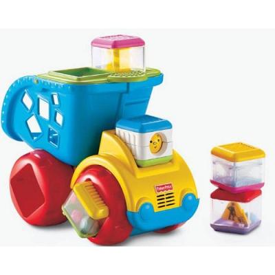 994252 «Деловой грузовичок» с сенсорными кубиками Fisher-Price