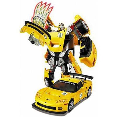 50150 Игрушка Робот-трансформер Машина Chevrolet Corvette CR6 28 см Happy Well