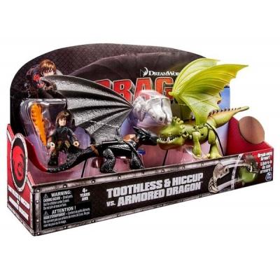 996602 Игровой набор Беззубик и Иккинг против дракона Dragons Spin Master