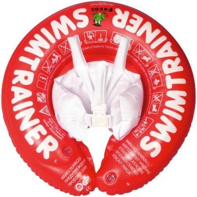 10220 Надувной круг для обучения плавания Оранжевый Swimtrainer