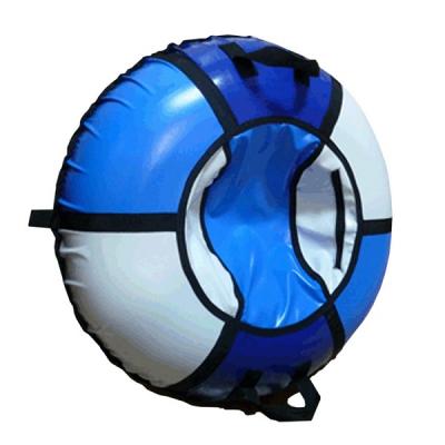 1000 Санки-ватрушка надувные Зима 100 см с камерой Тюбинг Globus