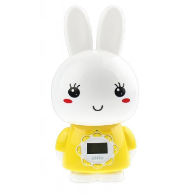 9960922 Интерактивная игрушка-медиаплеер Большой Зайка желтый Alilo G7